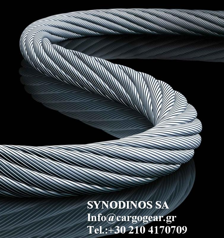 WIRE ROPES FOR CRANES : K& A SYNODINOS SA WIRE ROPE-WIRE ROPE SLINGS ...